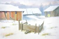 Quadro di Heikki Laaksonen  Paesaggio